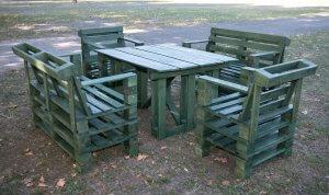 Raklap ötletek kerti bútorokhoz. - Kezdő Kertész
