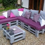 Raklap ötletek kerti bútorokhoz.