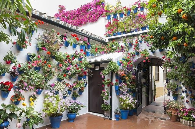 Patiok, Andalúzia virágoskertjei
