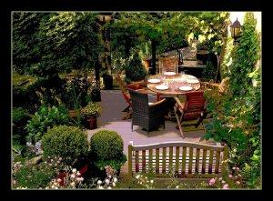 teraszok és kertek