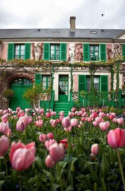 Kertek a nagyvilágban: Giverny kert