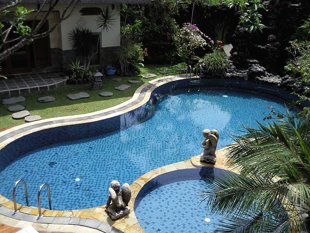 Kerti medencék - épített