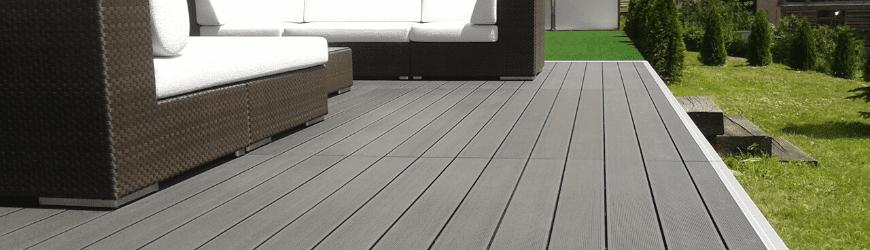 Modern teraszburkolat
